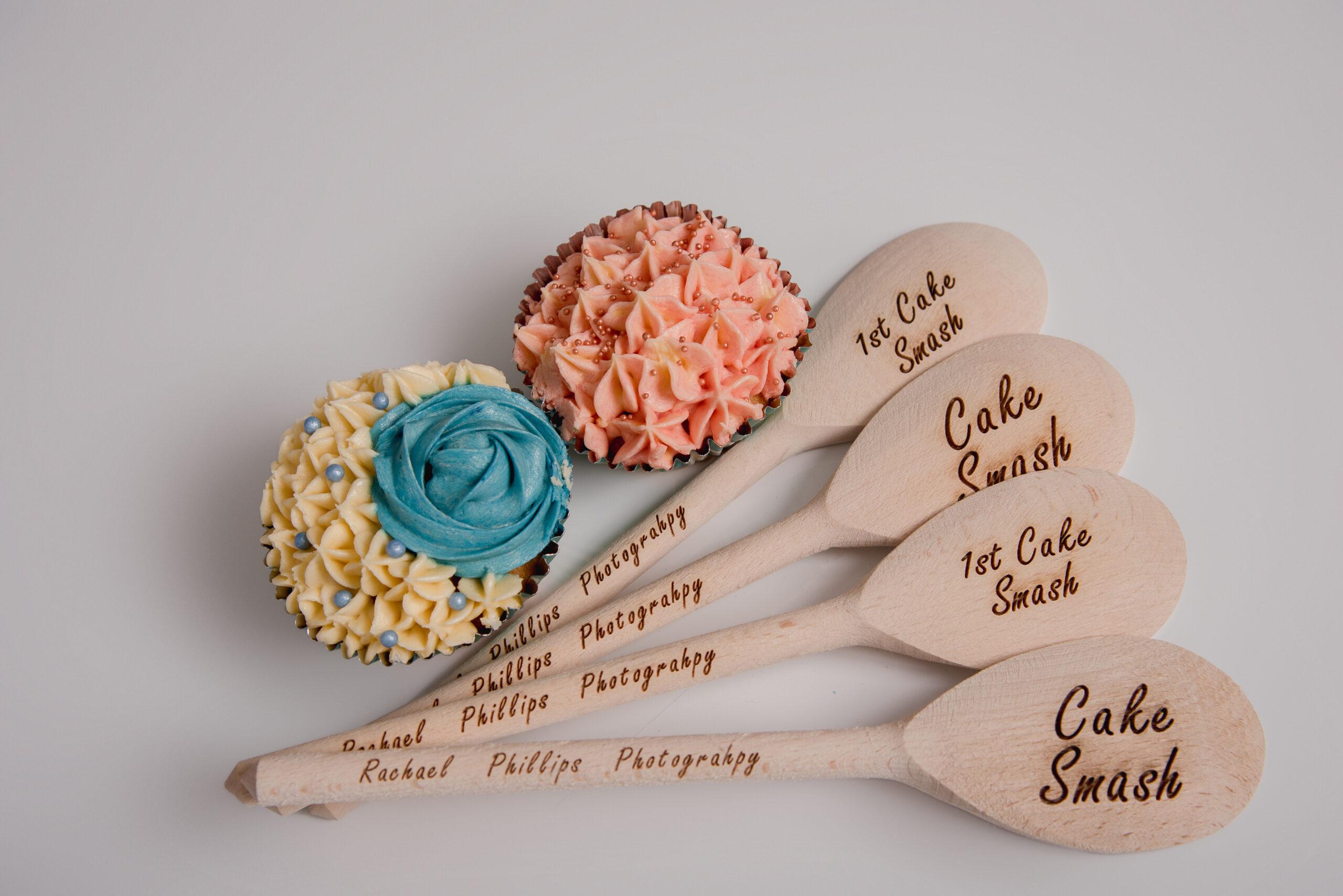 custom made spoons for cake smash