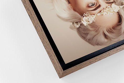 Acrylic framed print