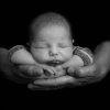 baby boy in daddy's hands at rachael phillips photography in Mansfield, Nottinghamshire
