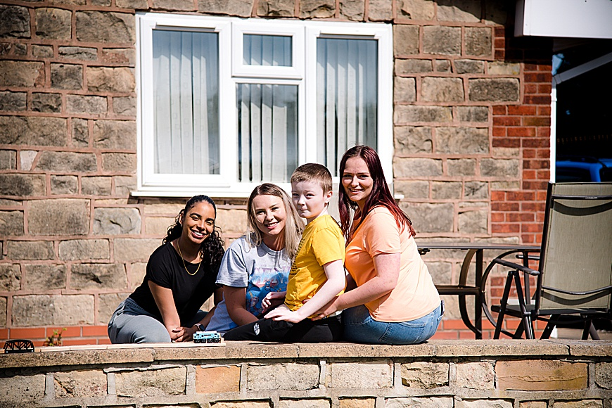 Family session at rachael phillips photography in Mansfield, Nottinghamshire