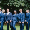grooms men at Colwick hall wedding in Nottingham