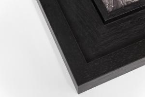 coastal frame in white, a frame within a frame